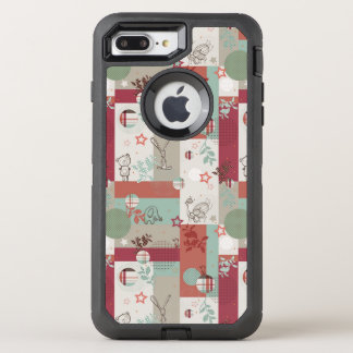 Baby Quilt Pattern 2 OtterBox Defender iPhone 7 Plus Case