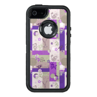 Baby Quilt Pattern OtterBox iPhone 5/5s/SE Case