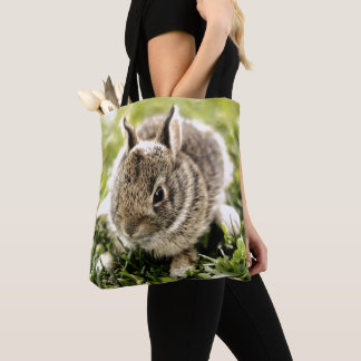 Baby Rabbit Tote Bag