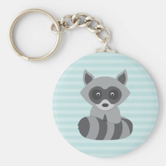 Baby Raccoon Key Ring