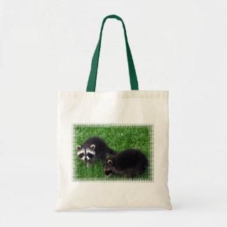Baby Raccoons  Small Tote Bag