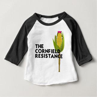 Baby Raglan - The Cornfield Resistance Baby T-Shirt