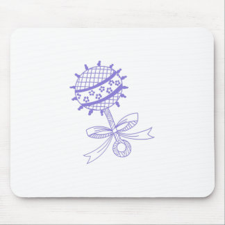BABY RATTLE MOUSE PAD