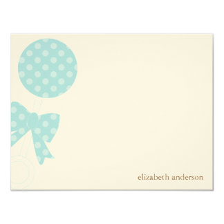 Baby Rattle Shower Thank You 11 Cm X 14 Cm Invitation Card