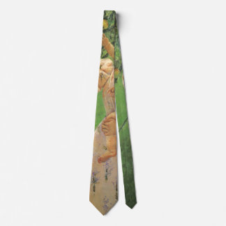 Baby Reaching for an Apple by Mary Cassatt Tie
