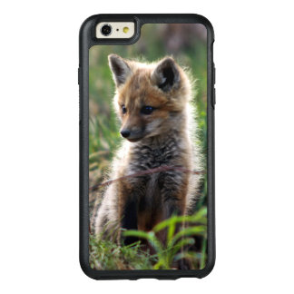 Baby Red Fox Outside Of Den OtterBox iPhone 6/6s Plus Case