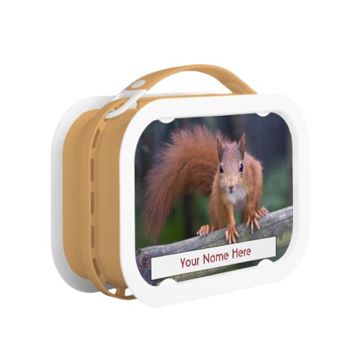 Baby Red Personalised Lunchbox