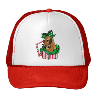 Baby Reindeer (or puppy) Holiday Gift Mesh Hat