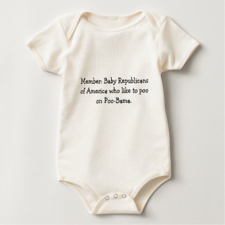 Baby Republicans of America Rompers