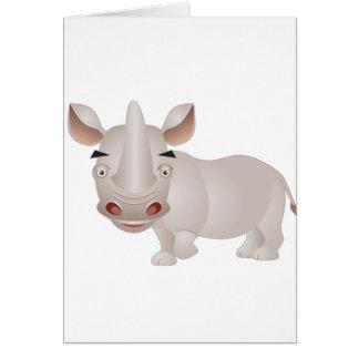 Baby Rhino Card