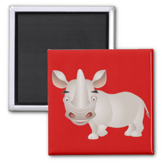 Baby Rhino Magnet