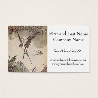 Baby Riding Sparrow, Andersen's Fairy Tales