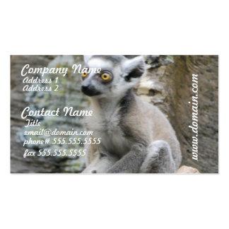 Baby Ringtailed Lemur Business Card