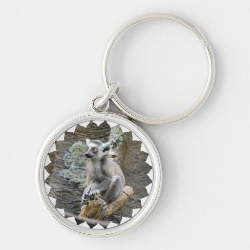 Baby Ringtailed Lemur  Keychain