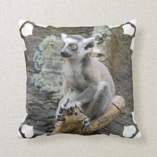 Baby Ringtailed Lemur Pillow
