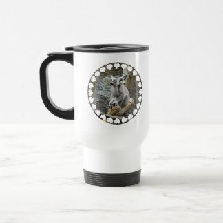 Baby Ringtailed Lemur Plastic Travel Mug