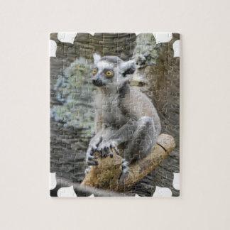 Baby Ringtailed Lemur Puzzle