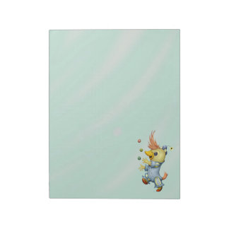 "BABY RIUS CARTOON  11"" x 8.5"" Notepad - 40 pages"