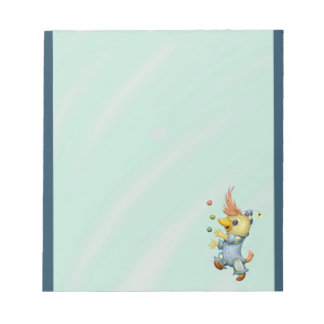 "BABY RIUS CARTOON  5.5"" x 6"" Notepad - 40 pages"