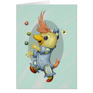 BABY RIUS CARTOON GREETING Card