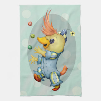 BABY RIUS CARTOON Linen with crockery 2 Tea Towel