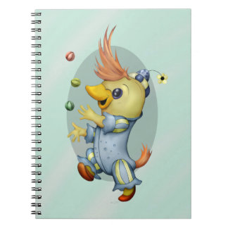 BABY RIUS CARTOON Photo Notebook (80 Pages B&W)