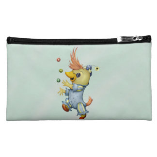 BABY RIUS CUTE CARTOON Sueded Medium Cosmetic Bag