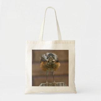 Baby Robin Budget Tote Bag