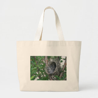 Baby Robins in the Nest Tote Bags