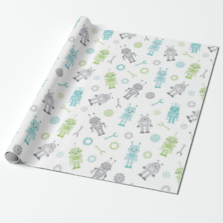 Baby Robots Wrapping Paper