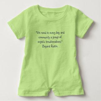 Baby Romper Rustin Quote Baby Bodysuit