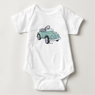 Baby rompertje with a beetle staircase car baby bodysuit