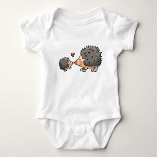 Baby rompertje with egeltjes baby bodysuit