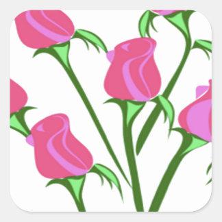 baby roses sticker