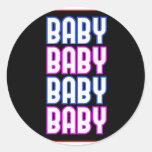 ** Baby ** Round Sticker