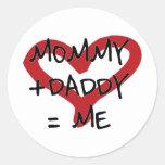 Baby Round Sticker