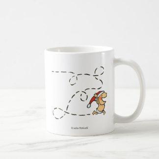 Baby Running On Christmas Morning Coffee Mug
