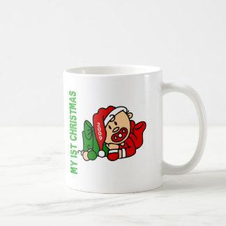Baby's 1st Christmas Dated BOY Mug