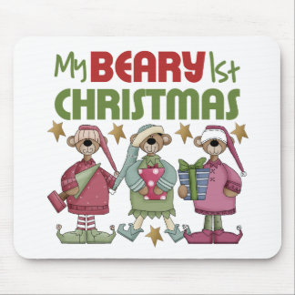 Baby s 1st Christmas Mouse Pads