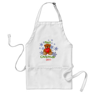 Baby s First Christmas Apron