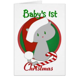 Baby s First Christmas Card