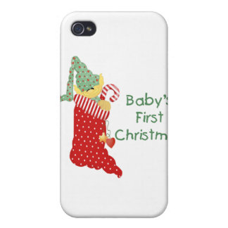 Baby s First Christmas iPhone 4/4S Case