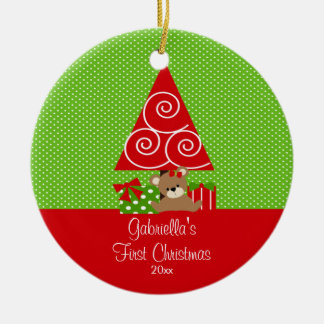 Baby s First Christmas Ornament Christmas Tree