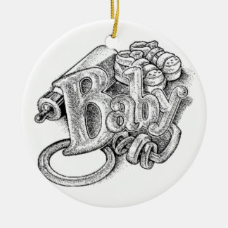 Baby s First Christmas Ornament - Unisex