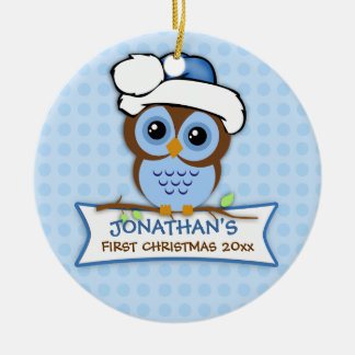 Baby s First Christmas Owl Ornament