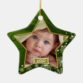 Baby s First Christmas Photo Frame Christmas Tree Ornament
