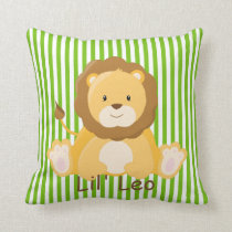 Baby Safari Lion•Nursery Cushion