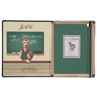 Baby Sandhill Crane as a Teacher, Monogram iPad Cover