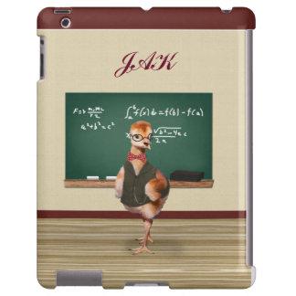 Baby Sandhill Crane as a Teacher, Monogram iPad Case