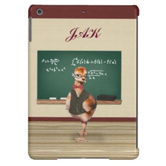 Baby Sandhill Crane as a Teacher, Monogram Case For iPad Air